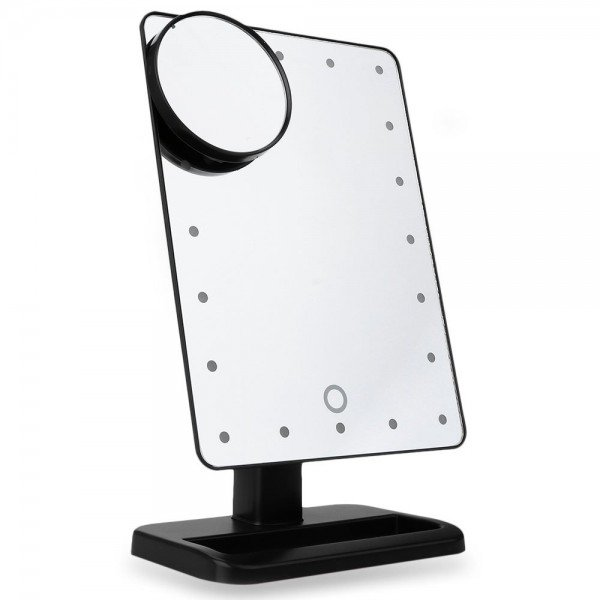 Fashion-Touch-Screen-Portable-Make-up-Luminous-Cosmetic-Mirror-10X-Magnifier-20-LEDs-Lighted-Adjustable-Vanity-1-600x600