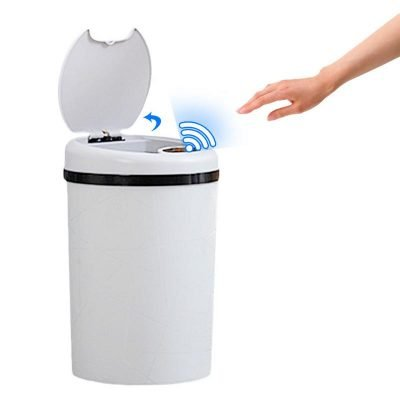 Recycle bins with touch sensor