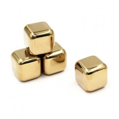 Customized-Stainless-Steel-Whiskey-Stones-Gold-Stainless-389x389