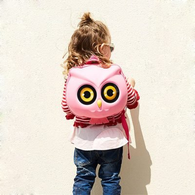 Supercute-3D-Waterproof-EVA-School-Bag-for-girl-Boy-Children-Owl-Shape-Bags-Orthopedic-Schoolbag-Kids